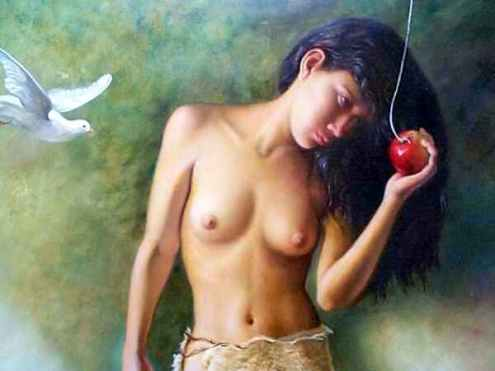 Pastora de manzanas